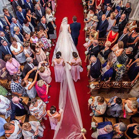 Bride Entering Church